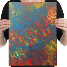 Fire canvas print from Todd Peterson's Passion Collection