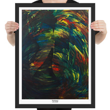 Fantasy framed print from Todd Peterson's Passion Collection